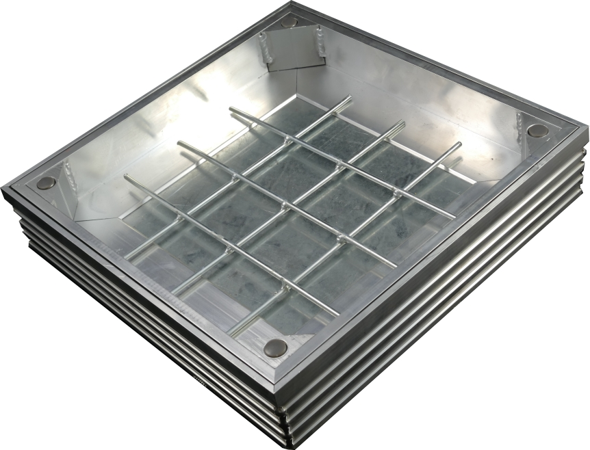 New TSL-Pro-Line Triple Sealed Aluminium Reccessed Manhole Covers