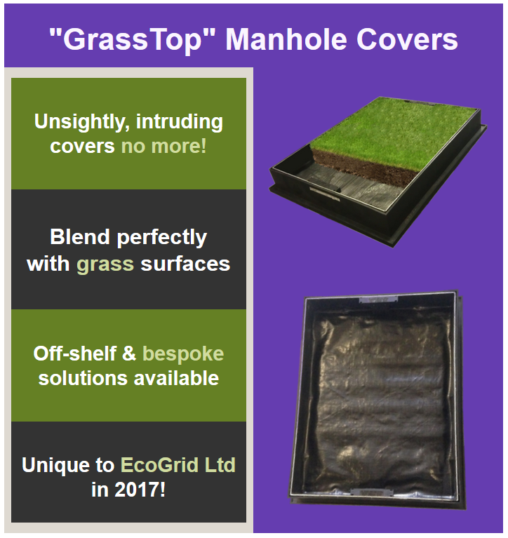 GrassTop Manhole Covers - Hide Ugly Covers!