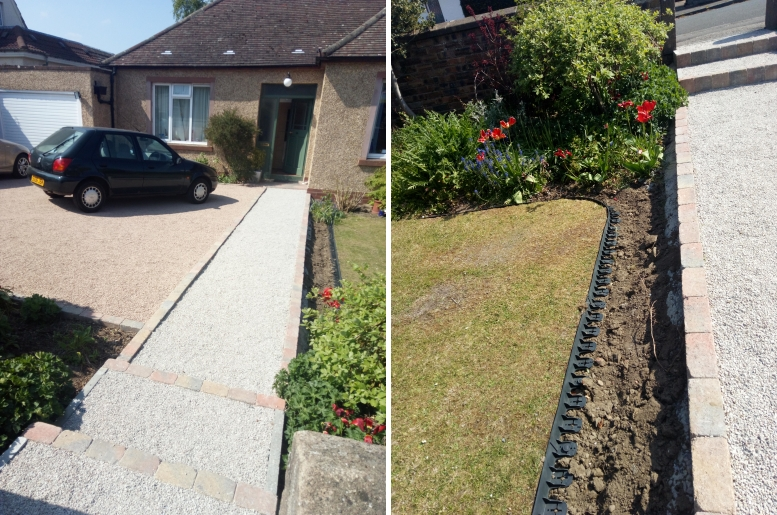 EcoGrid Blog - Driveway, Pathway & Garden Upgraded!