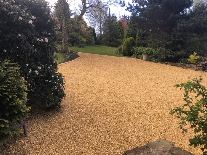 EcoGrid Resin Bound Driveway & Parking Area