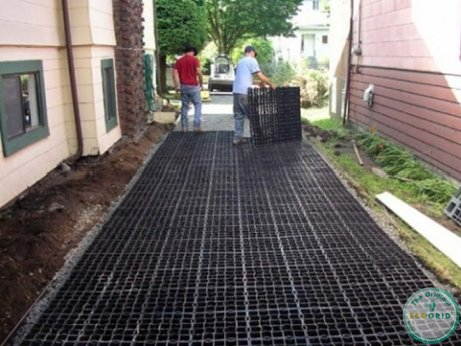 EcoGrid Flash Flooding Blog - Installing Permeable Paving