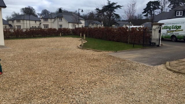 EcoGrid Testimonial - Driveway with Stone Chips