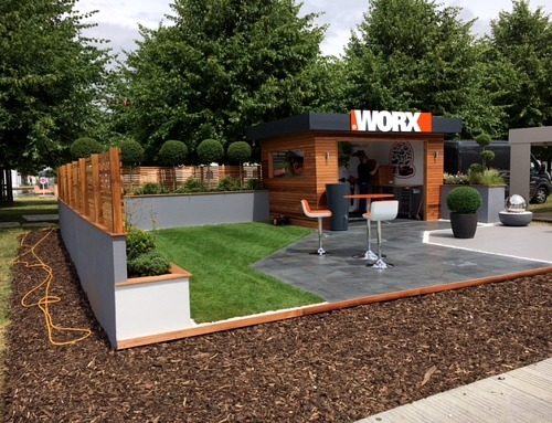 EcoGrid Spotted at 2017 Hampton Court Flower Show