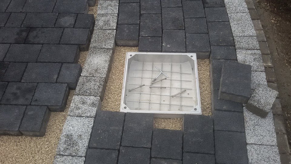 EcoGrid Aluminium Recessed Manhole Covers - Installation Process