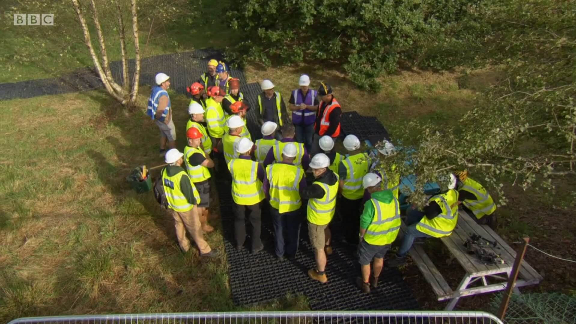 EcoGrid Porous Paving Featured on 'DIY SOS' Children In Need Special