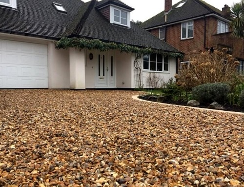 Gravel Driveway by E. Williams Landscapes