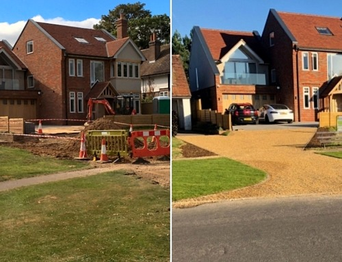 A Step by Step Driveway Transformation with EcoGrid Permeable Paving