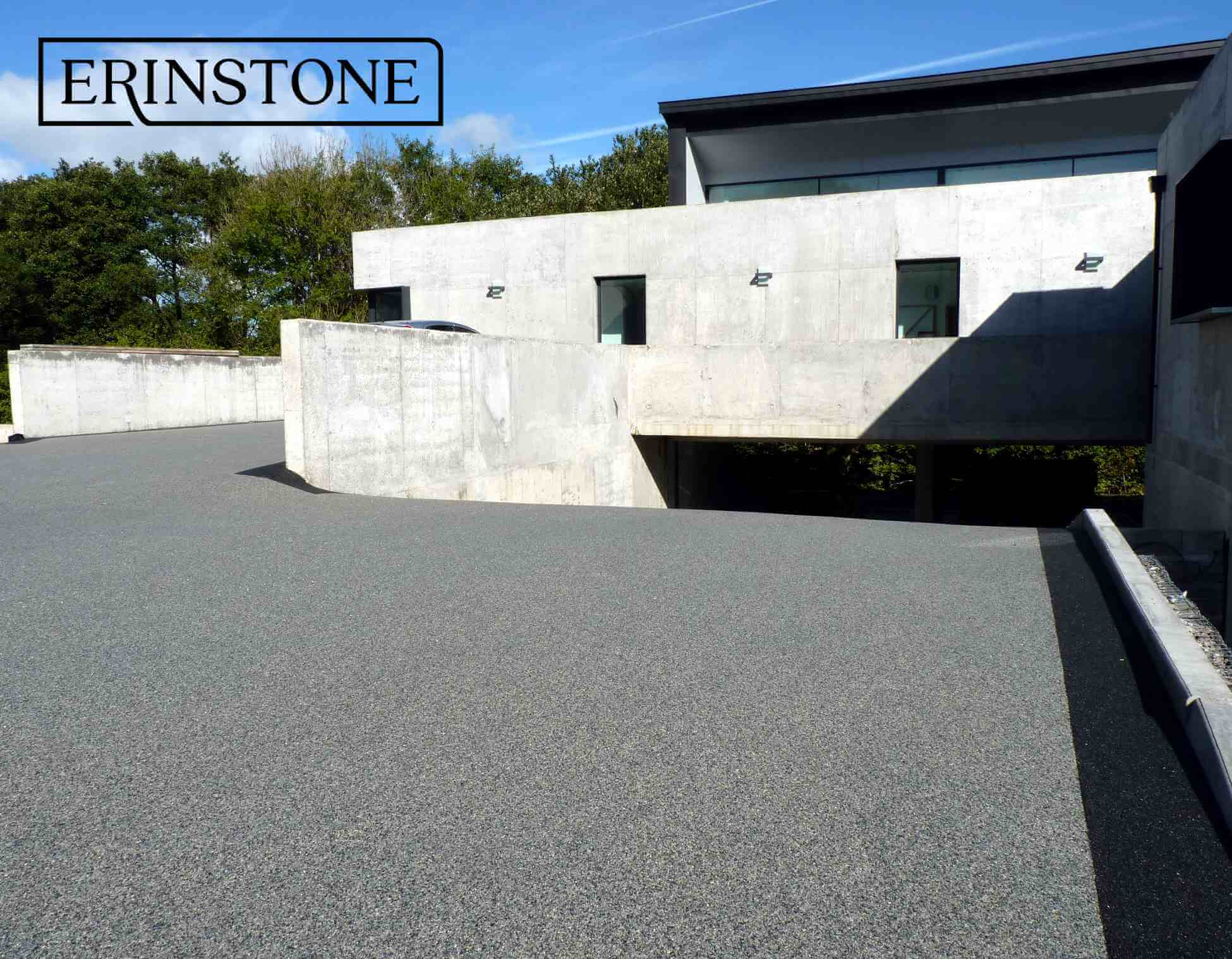 EcoGrid Installed With Resin Bound Stone - Erinstone Ltd