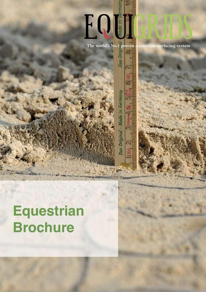 EcoGrid Equigrids Equestrian Brochure