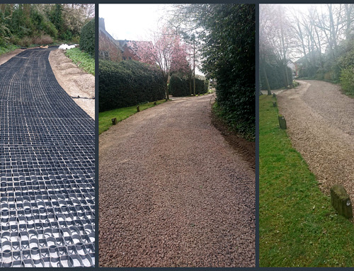 EcoGrid S50 Private Access Road