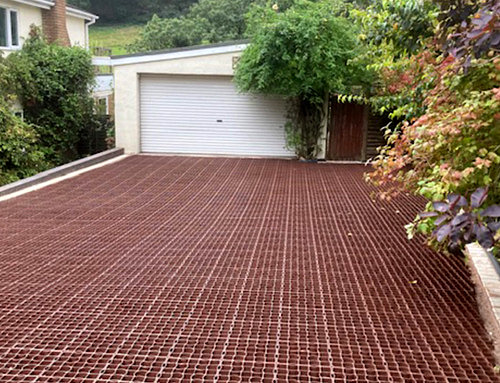 Driveway Project With Testimonial
