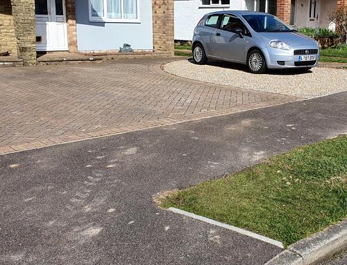 Front Garden Patio Driveway Installation
