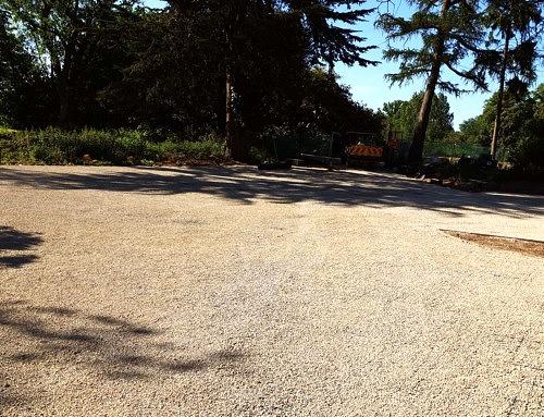 Ashley Groundworks Car Park Installation